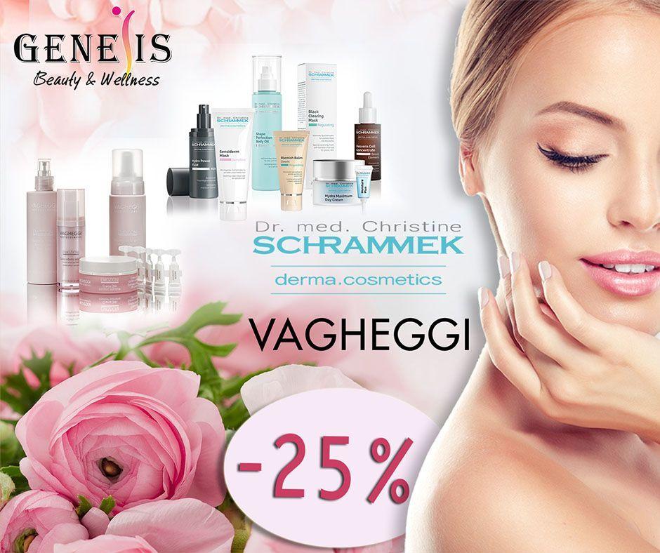 -25% σε όλα τα προϊόντα schrammek και vagheggi